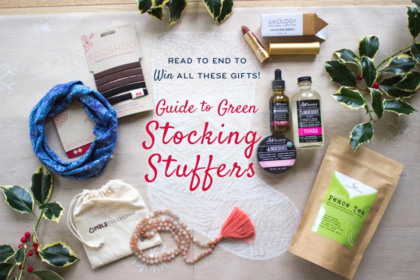 green stocking stuffer ideas