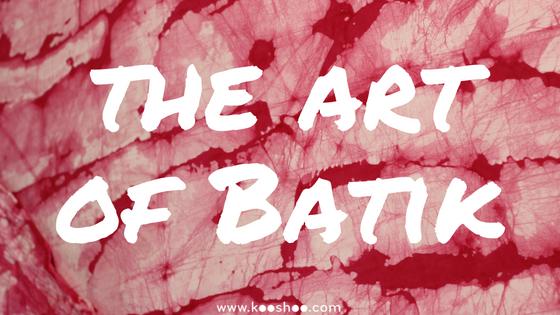 how to batik dye
