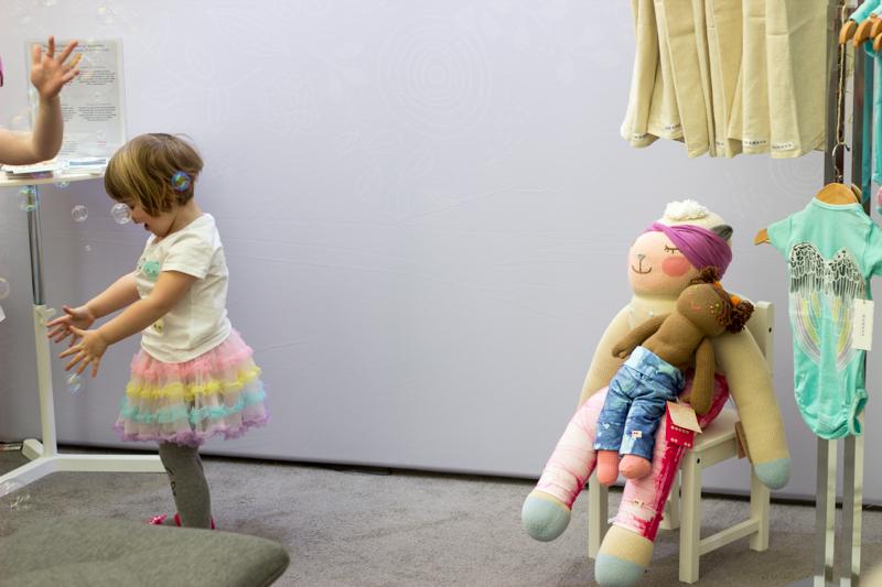 Bla Bla dolls in organic pants by KOOSHOO