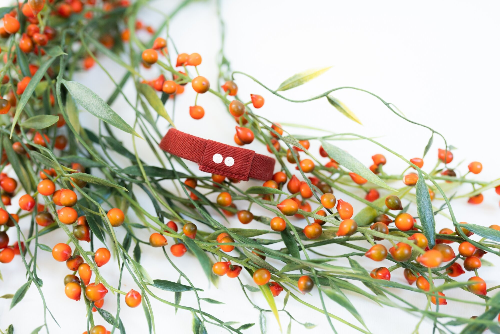 plastic-free hair accessories for red hair