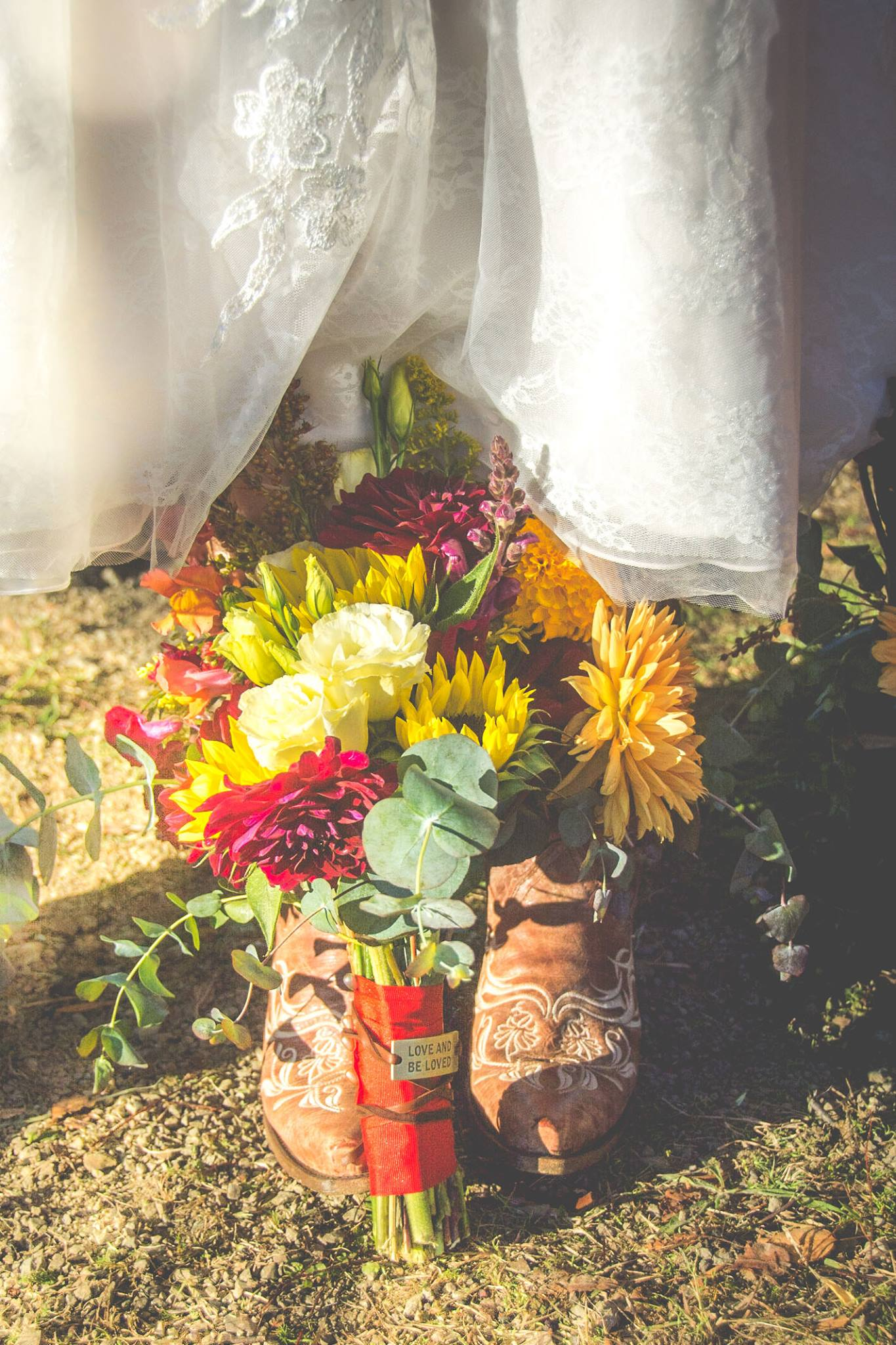 Bridal bouquet - October wedding