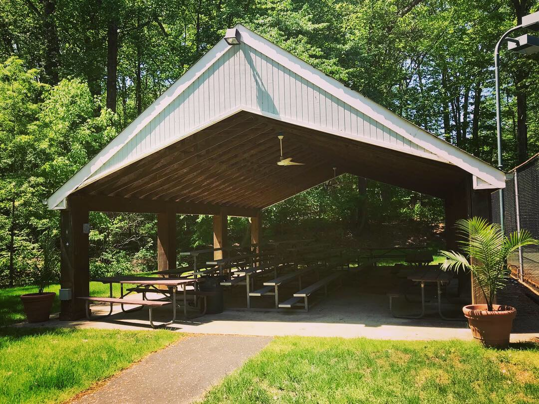 Covered Pavilion Available to Rent in Reston for Swim Club Members