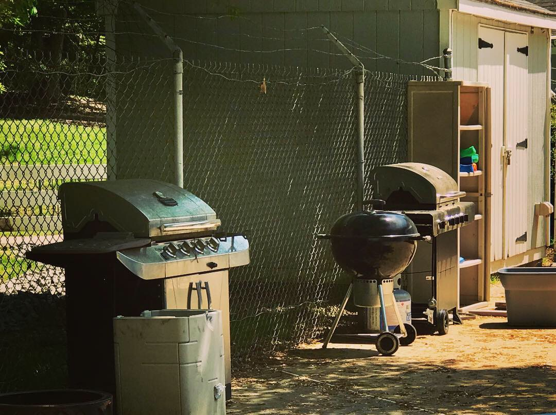 Charcoal and Gas Grills