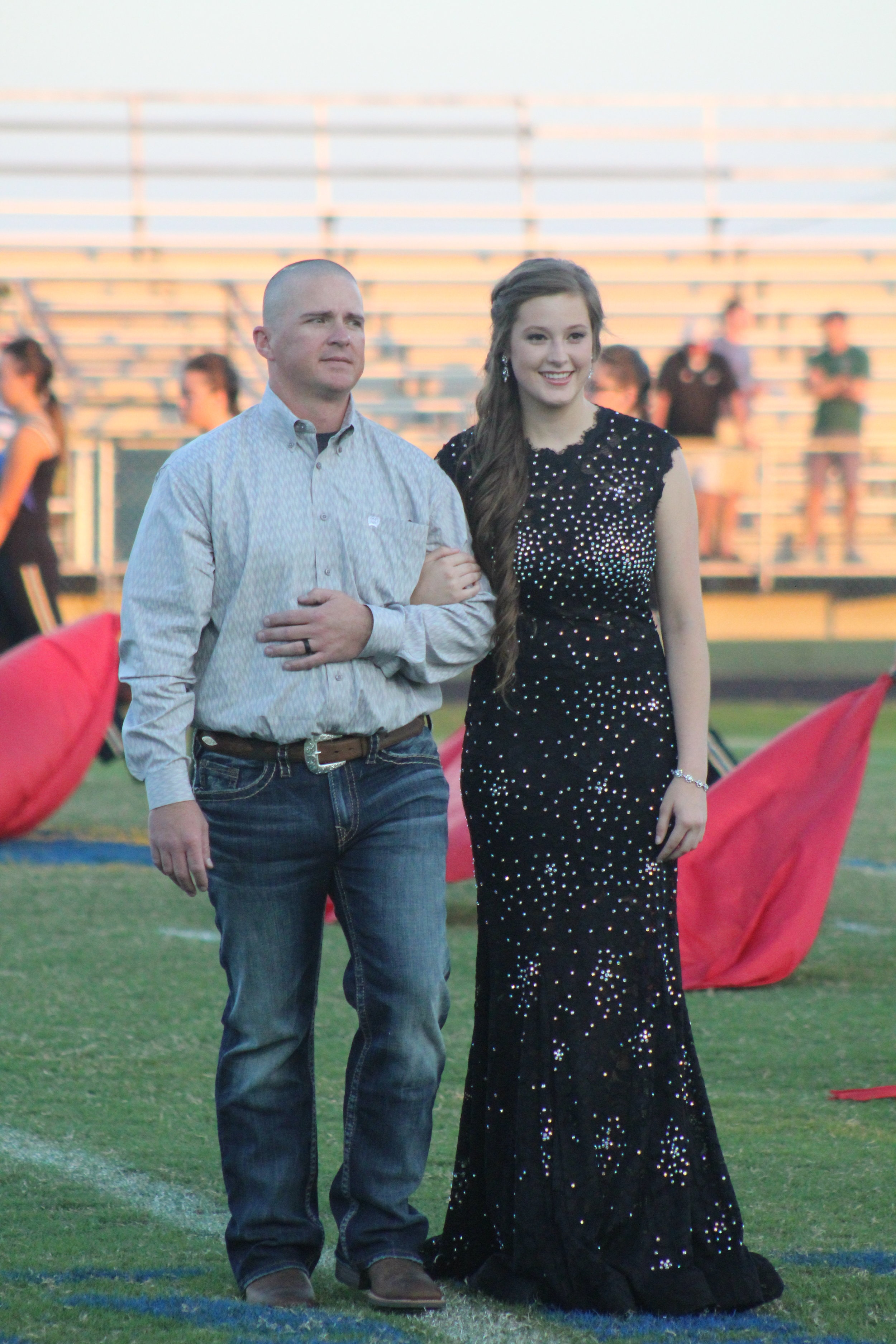 (Photo by Maddy Routon) Jamielynn Parker as a Homecoming nominee