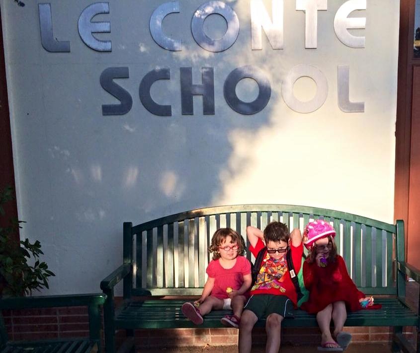 Elliott's First Day of   School in Berkeley, 2014
