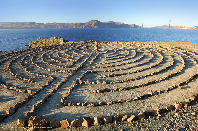 The Labyrinth at Land's End in San Francisco.