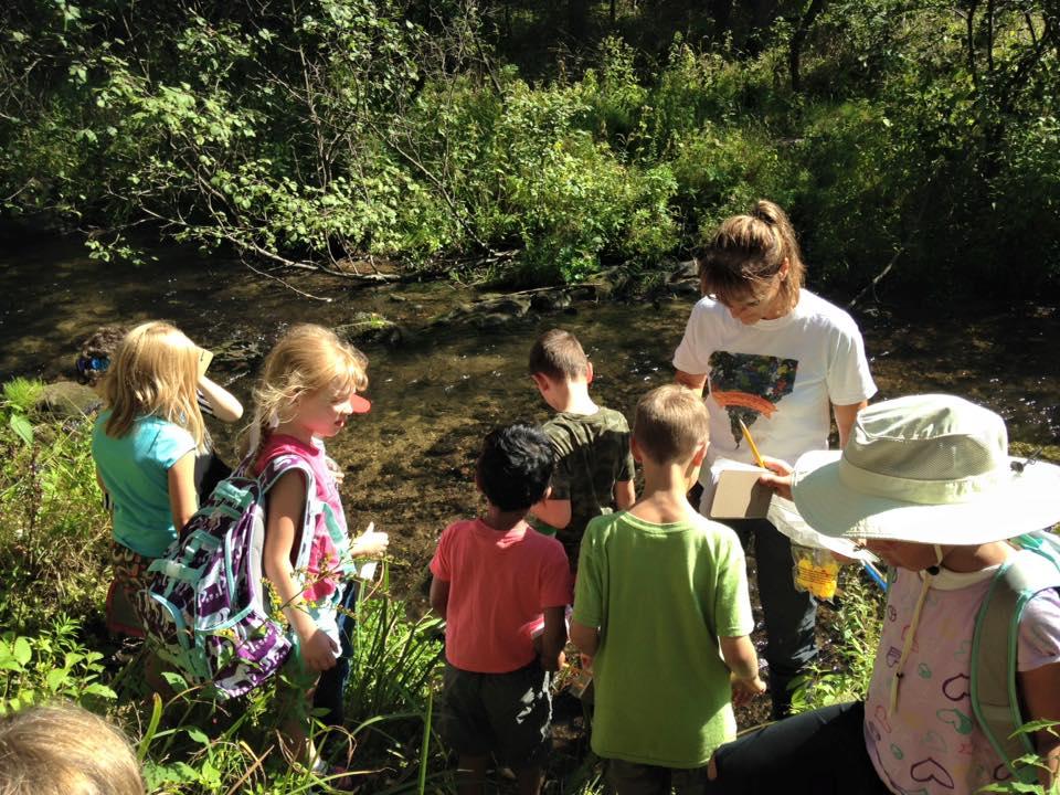 Outdoor time can help children develop focus
