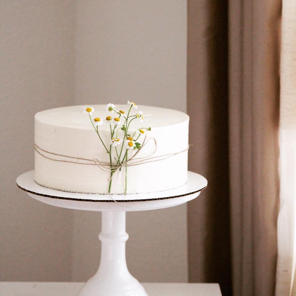 Cardamom Saffron Cake