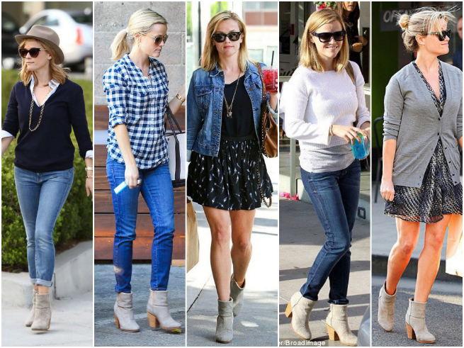 Reese Witherspoon Booties