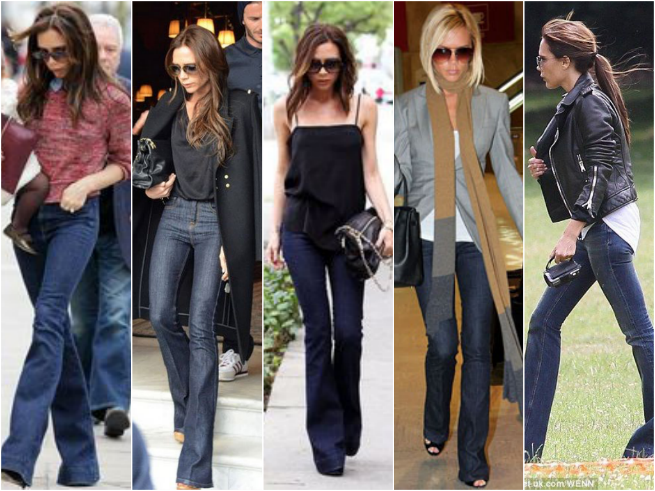 Victoria Beckham Jeans Style Outfit