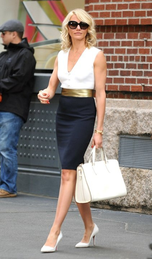 cameron diaz the other woman outfits