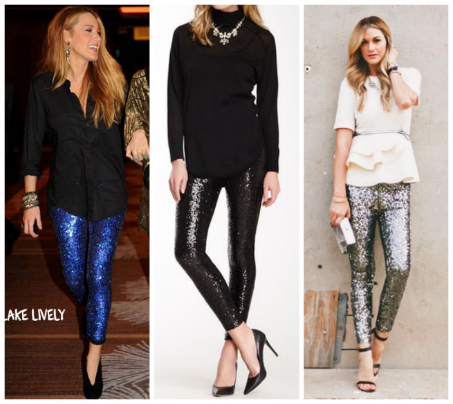 Sequin Pants Outfit Ideas