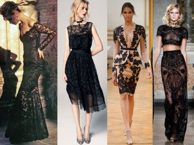 lace dresses inspiration