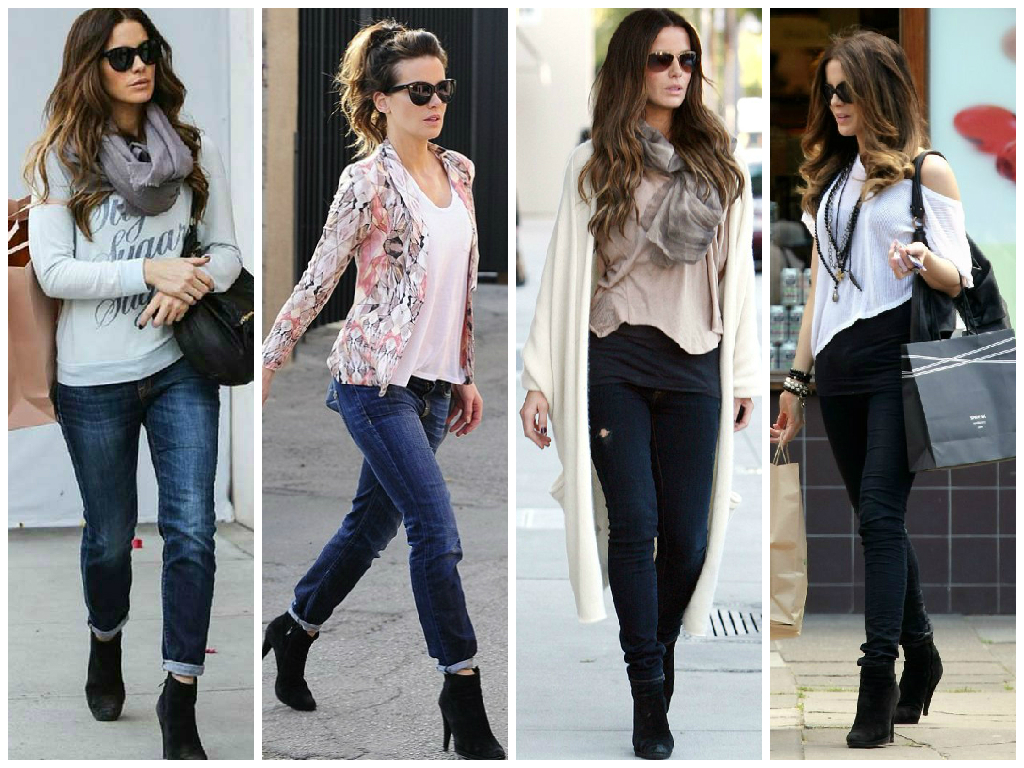 This is a combination you can restyle many different ways and if you are lucky enough to be able to wear jeans to work, this is always an easy option to style. I wear dark wash or black skinny jeans with ankle boots to work on Thursdays or Fridays.