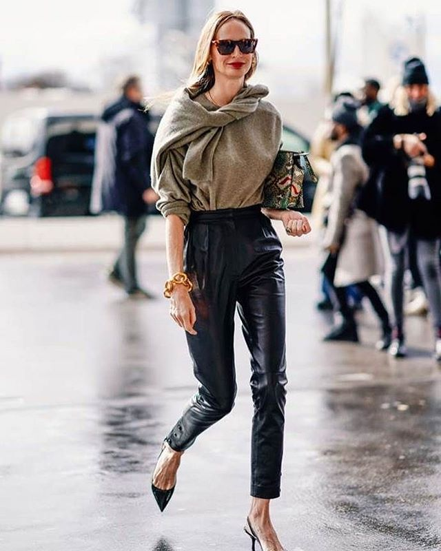 Obsessing over leather pants currently. Anyone know of any good vegan leather brands at a mid range cost?