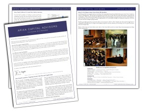 First Quarter 2012 Newsletter