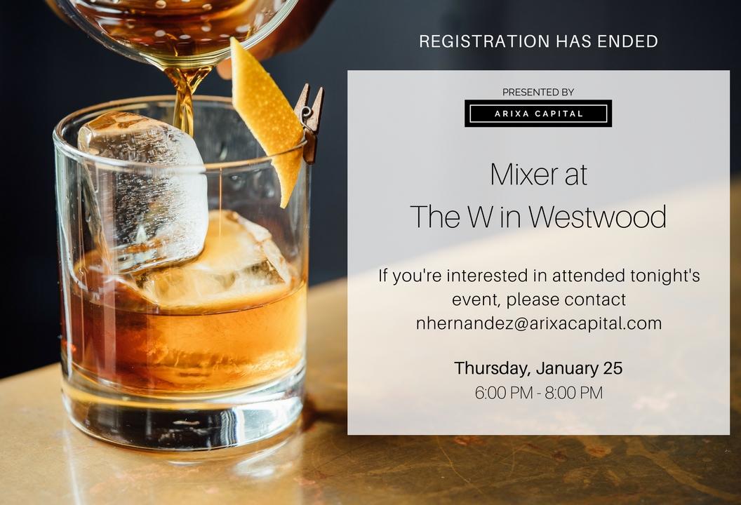 Arixa Mixer at The W - Invitation.jpg
