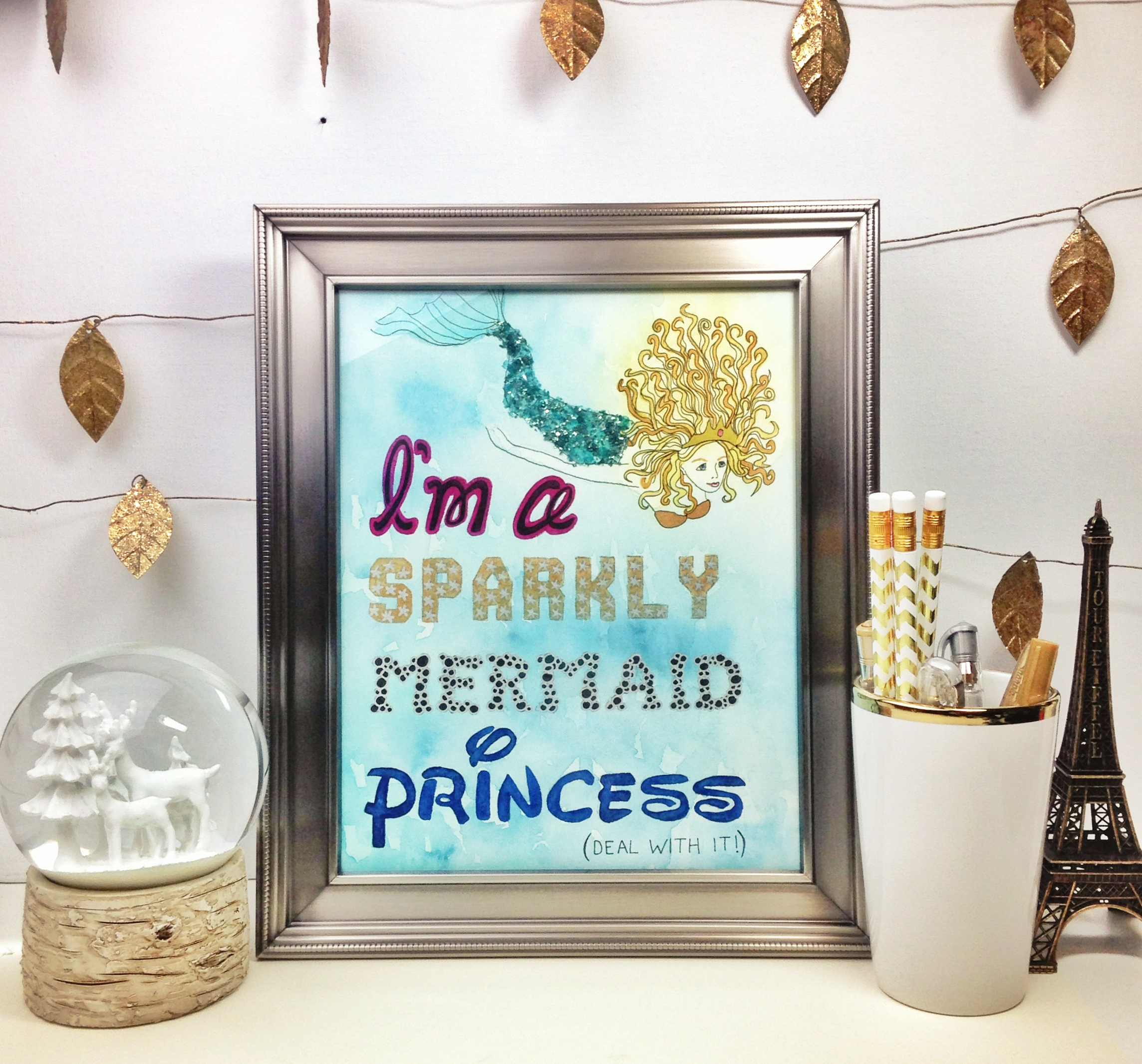 Mermaid_Princess_Print
