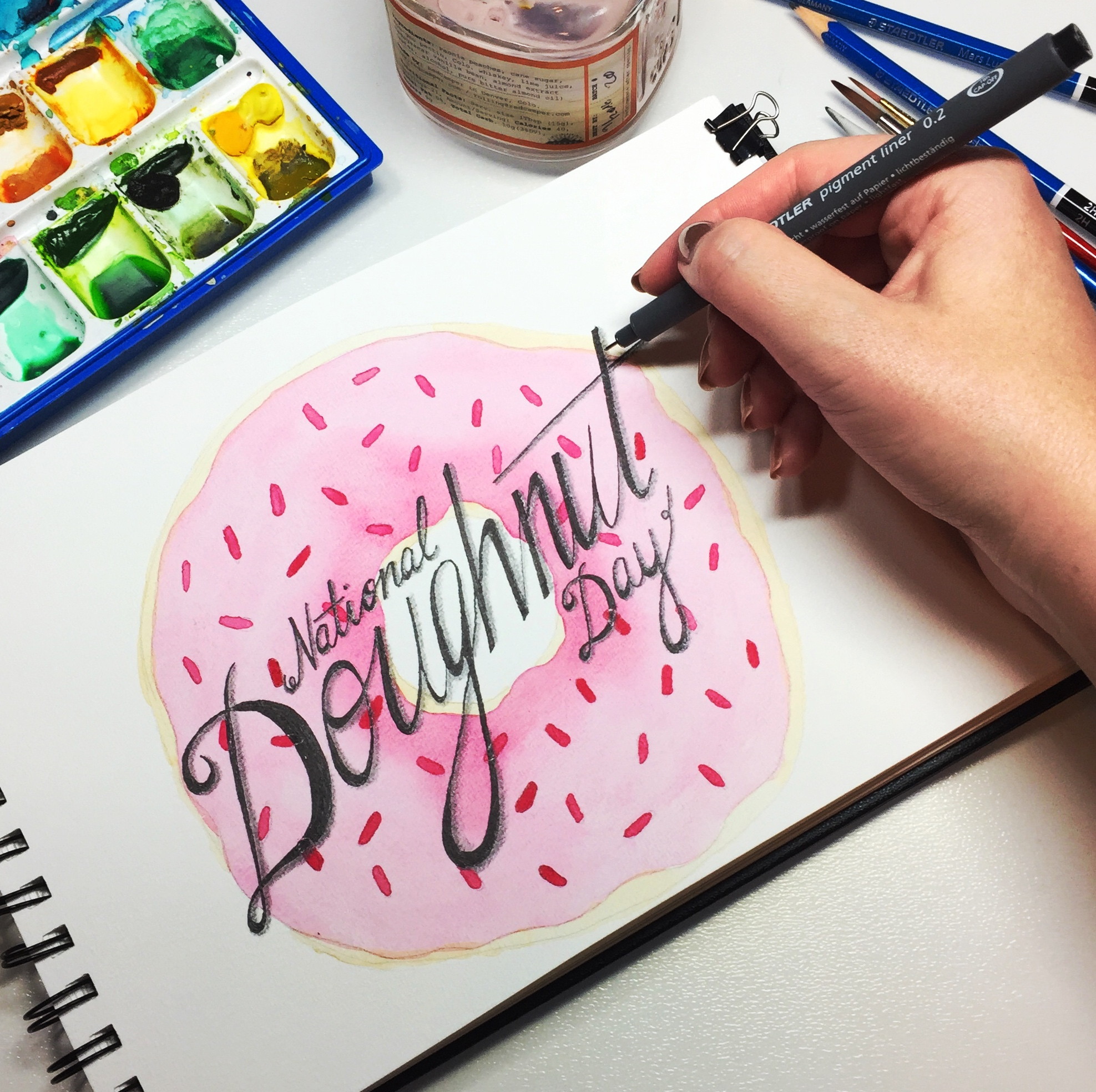 DonutDay_painting