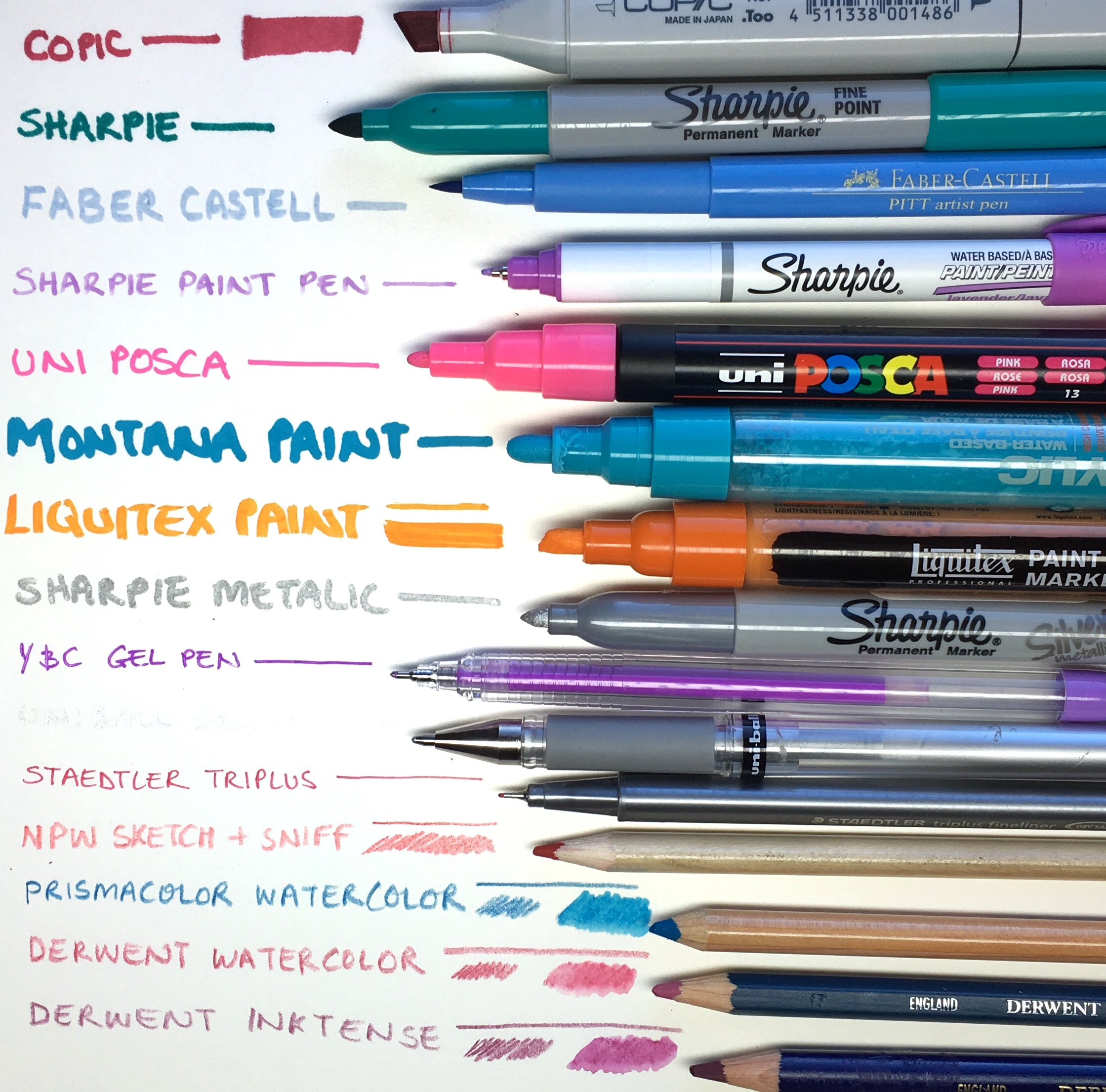 Best Colored Pencils and Markers to Use for Adult Coloring by Jessica Mack of BrownPaperBunny