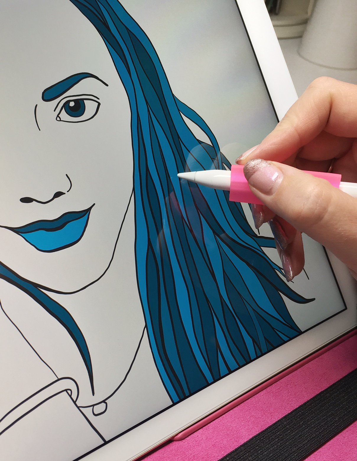 Best iPad Pro Apps for Artists, by Jessica Mack of BrownPaperBunny