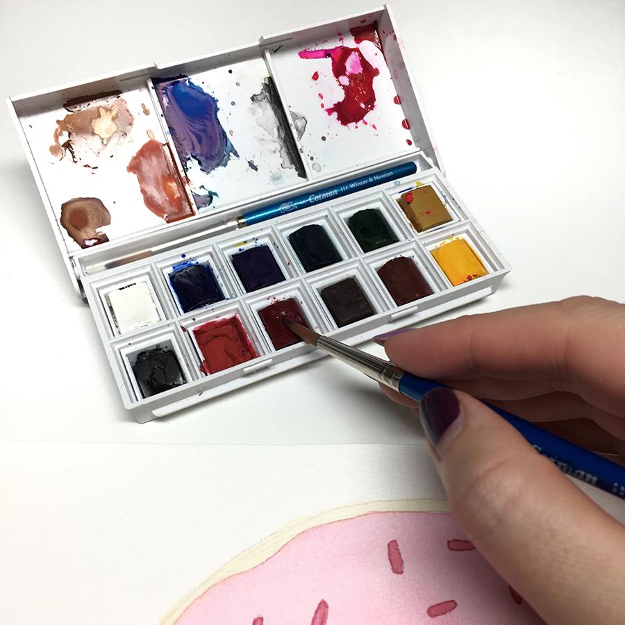 Winsor & Newton Travel Watercolor Set