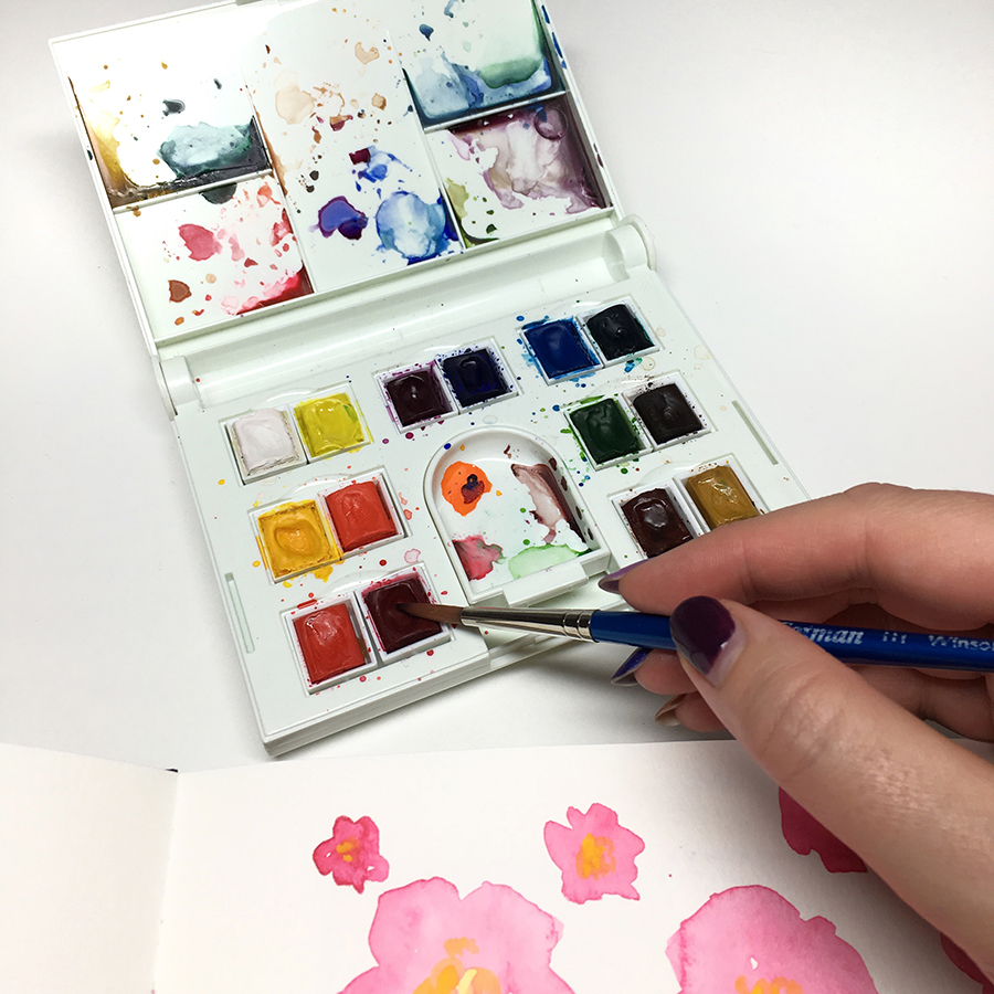 Winsor & Newton Compact Watercolor Set