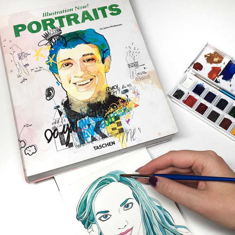 Illustration Now: Portraits