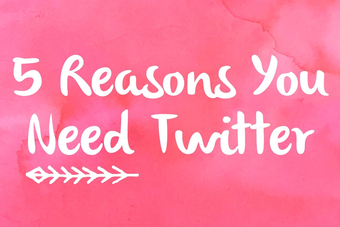 5 Reasons You Need Twitter by BrownPaperBunny
