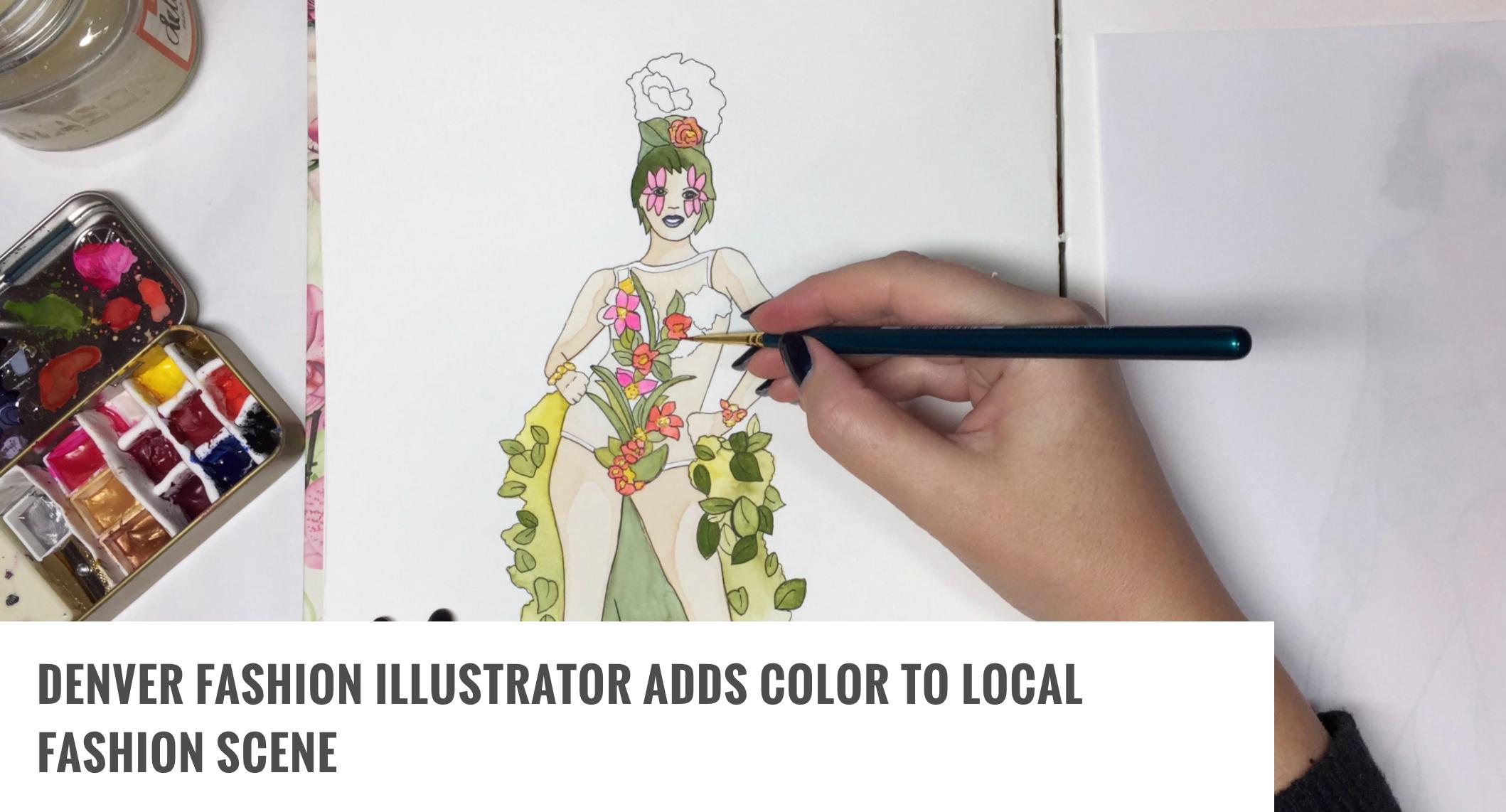 303 Magazine Fashion Illustration