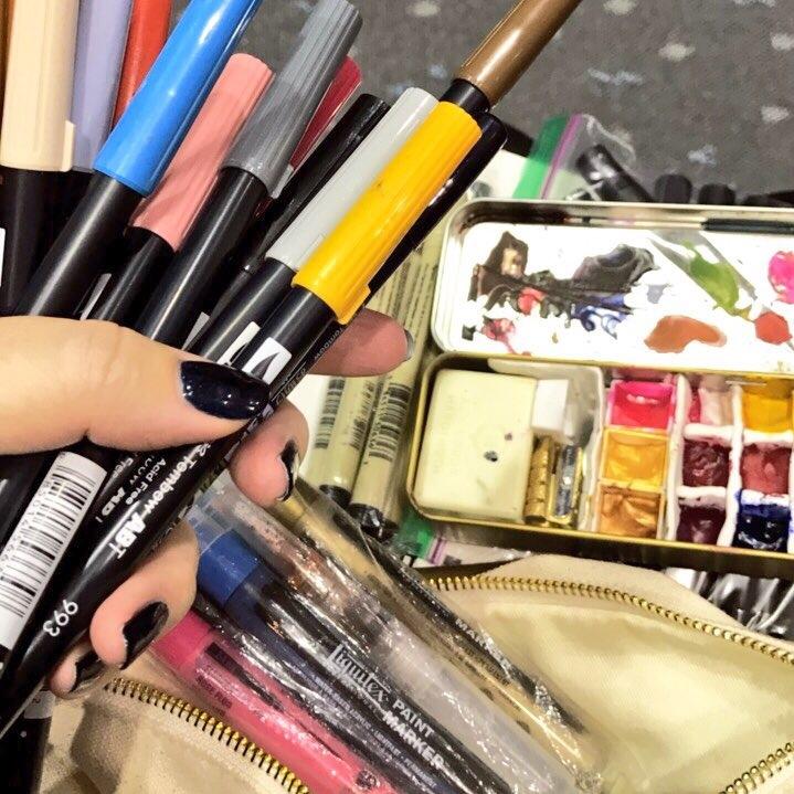 Travel Art Supplies