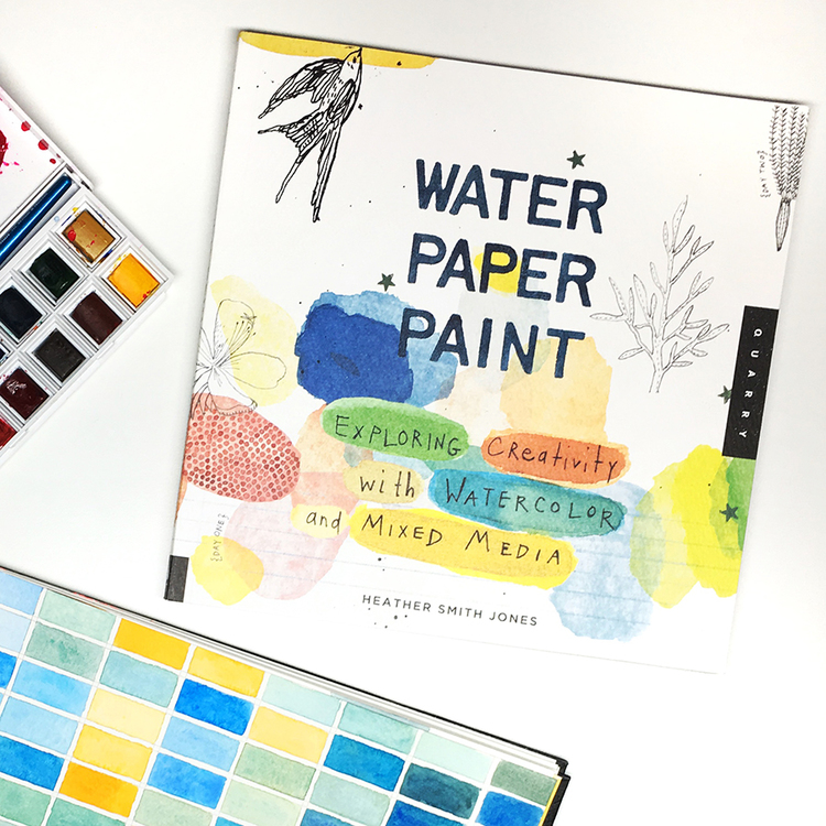 Book: Water Paper Paint