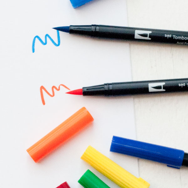 Tombow Brush Markers