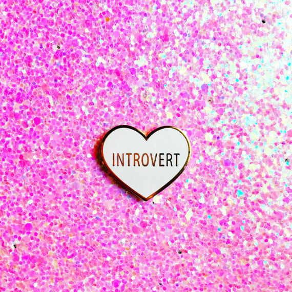Introvert Enamel Pin.jpg