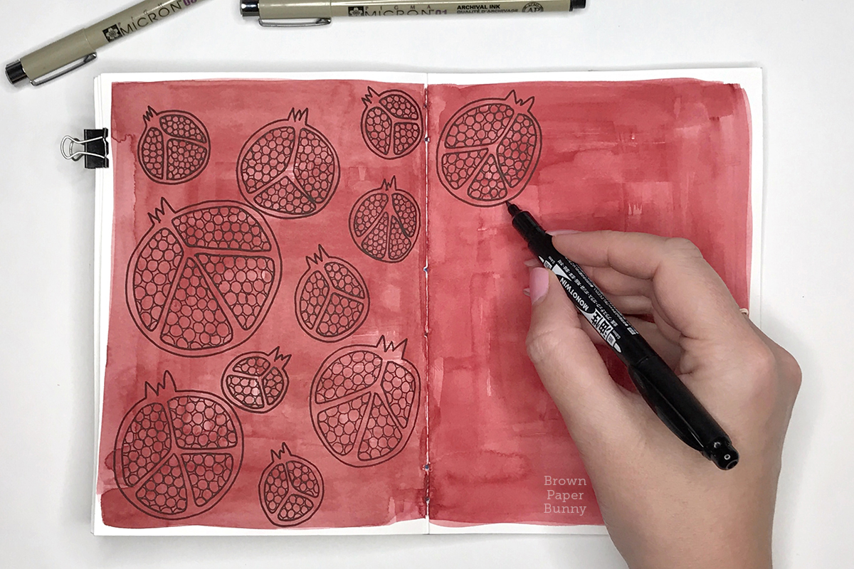 Hand Drawn Patterns by BrownPaperBunny