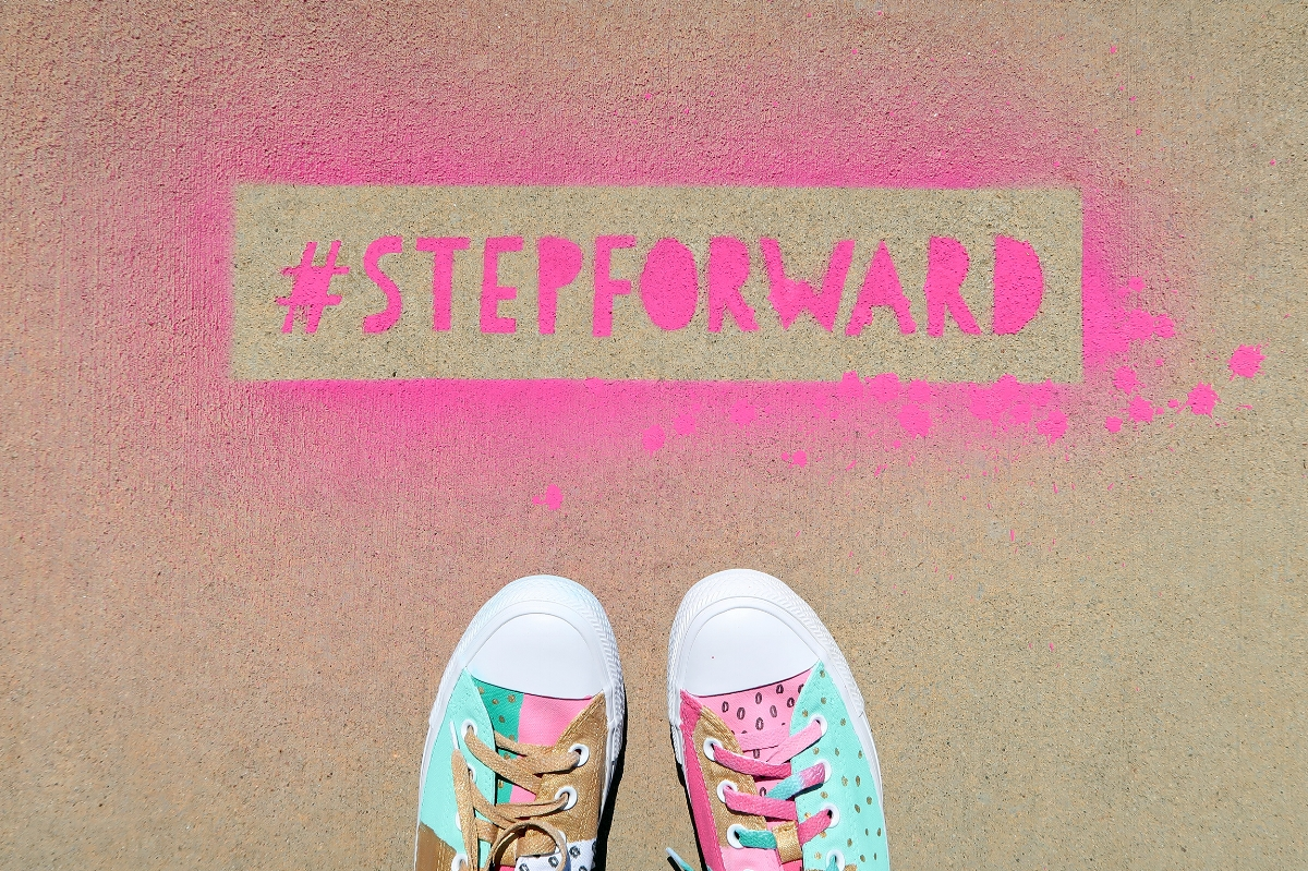 #StepForward with Famous Footwear and BrownPaperBunny