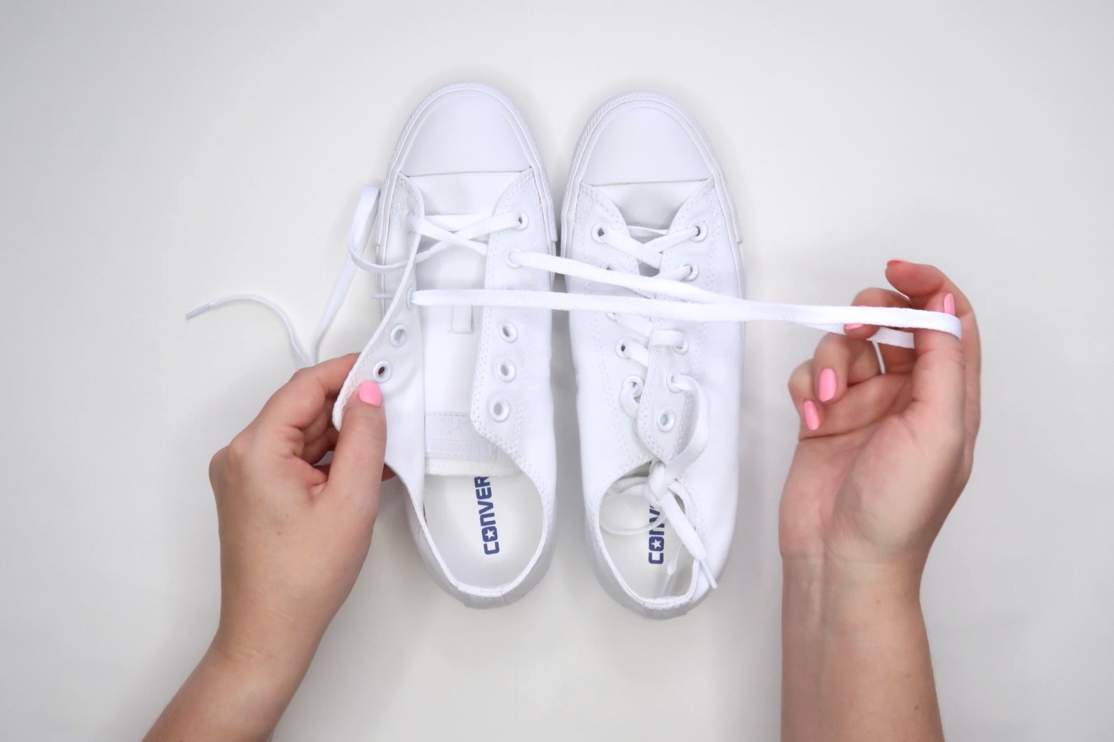 How to Paint Converse All Star Sneakers by BrownPaperBunny