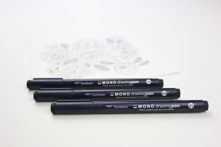 MONO Drawing Pens from Tombow