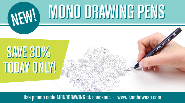 MONO Drawing Pens by Tombow
