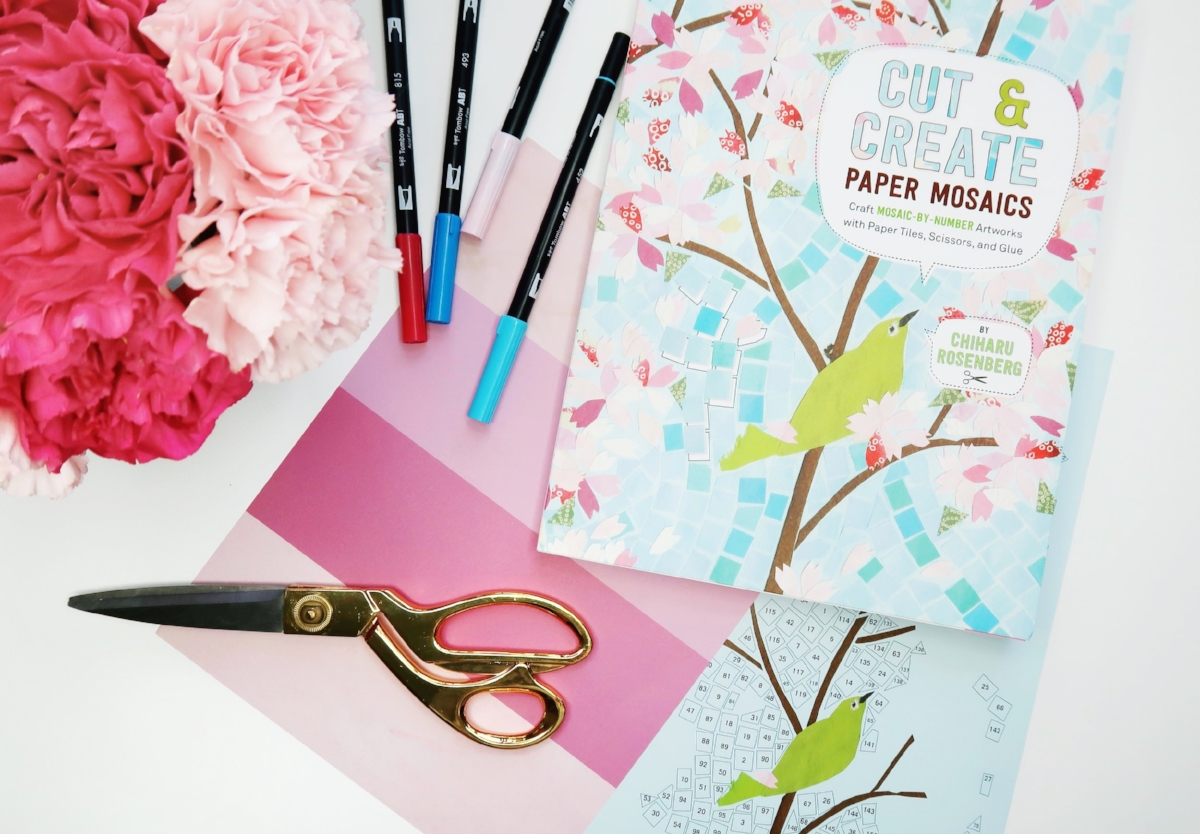 Cut and Create Paper Mosaics