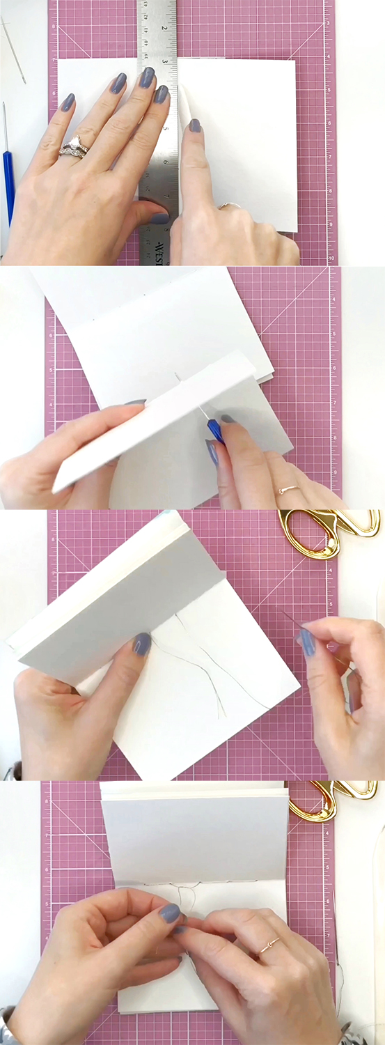 How to Make Your Own Art Journal by Jessica Mack of BrownPaperBunny