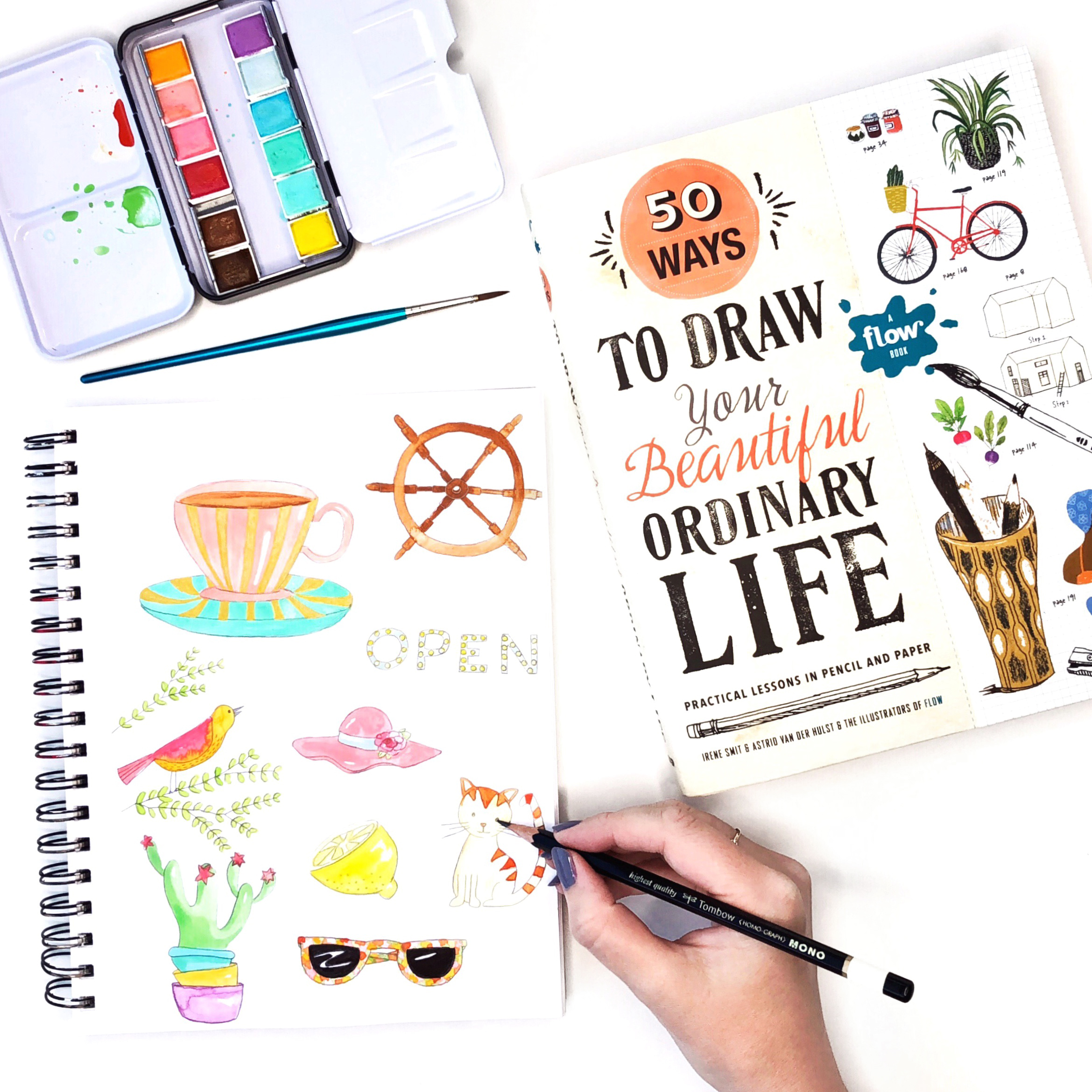 50 Ways to Draw Your Ordinary Life by Jessica Mack of BrownPaperBunny