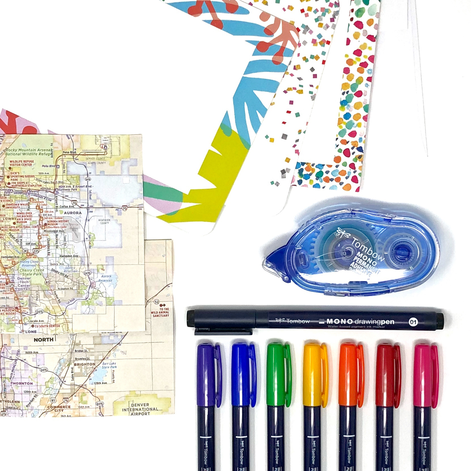 DIY Happy Mail with Mixbook and Tombow by Jessica Mack of BrownPaperBunny