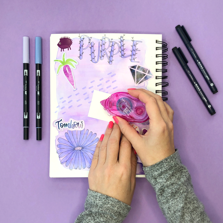 Start an Art Journal by Jessica Mack of BrownPaperBunny