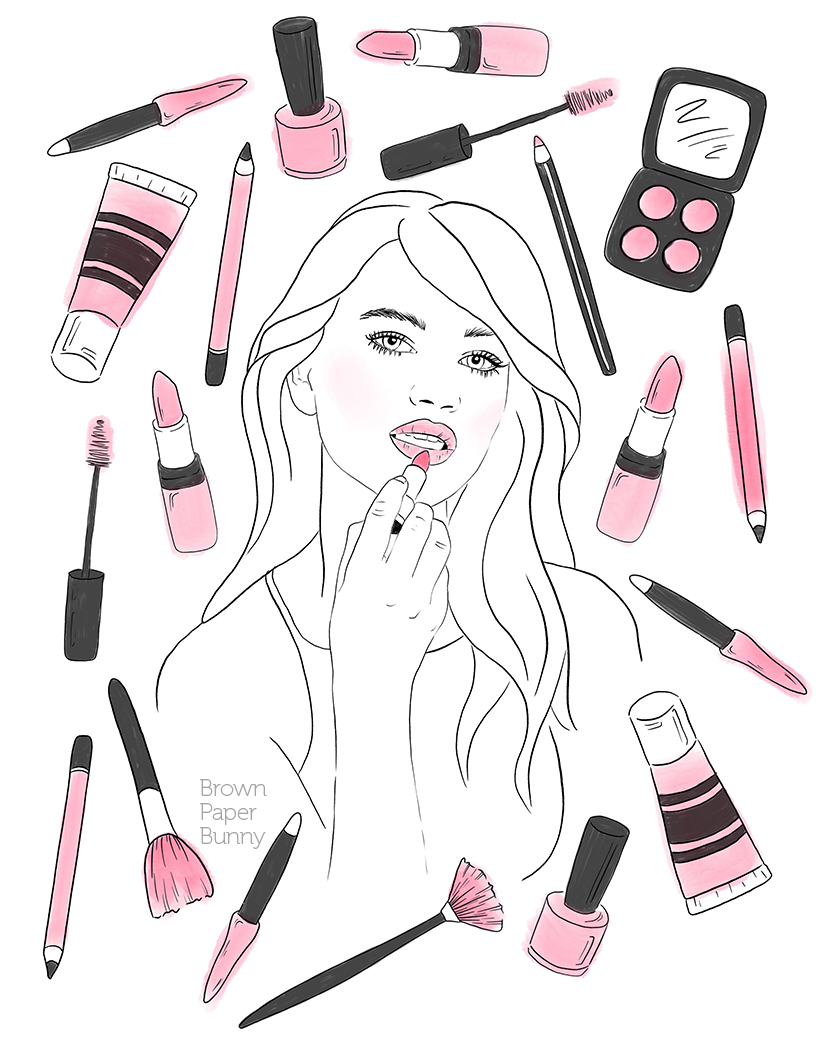 Make Me Up by Jessica Mack of BrownPaperBunny