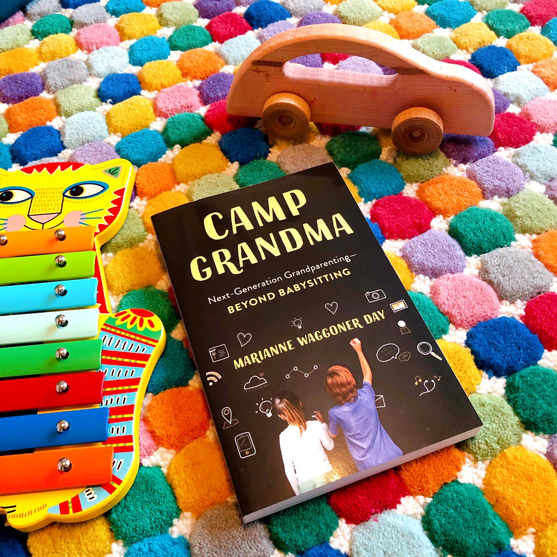 Camp Grandma by Marianne Waggoner Day. Book review by Jessica Mack on BrownPaperBunny