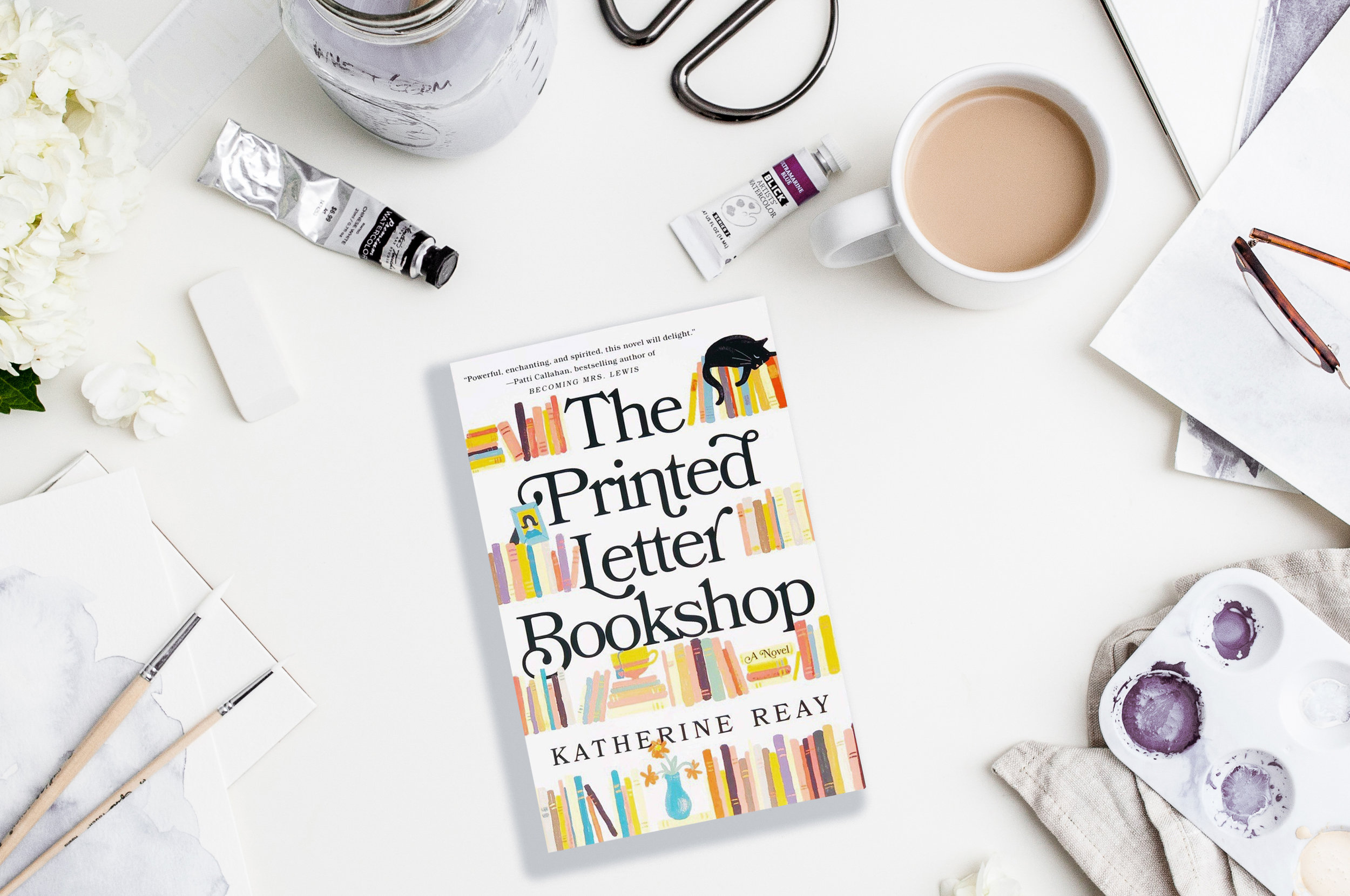 The Printed Letter Bookshop by Katherine Reay. Review by Jessica Mack on BrownPaperBunny.