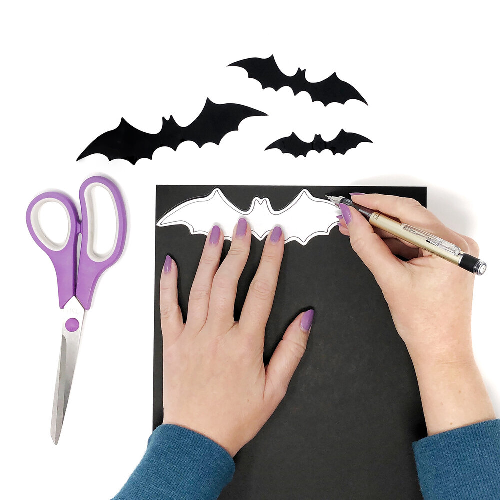 DIY Halloween Decorations — Brown Paper Bunny Studio
