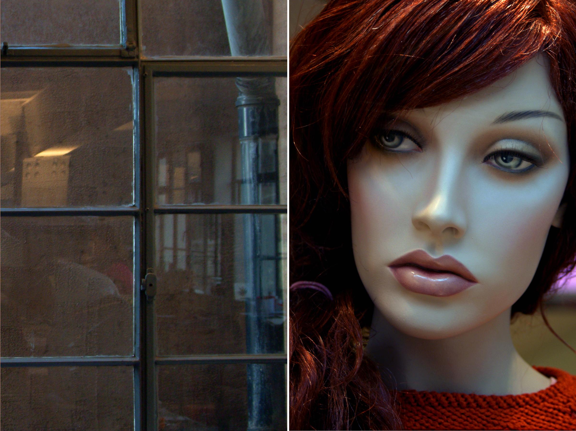 Recoleta Diptych 10 red sweater and storeroom.jpg