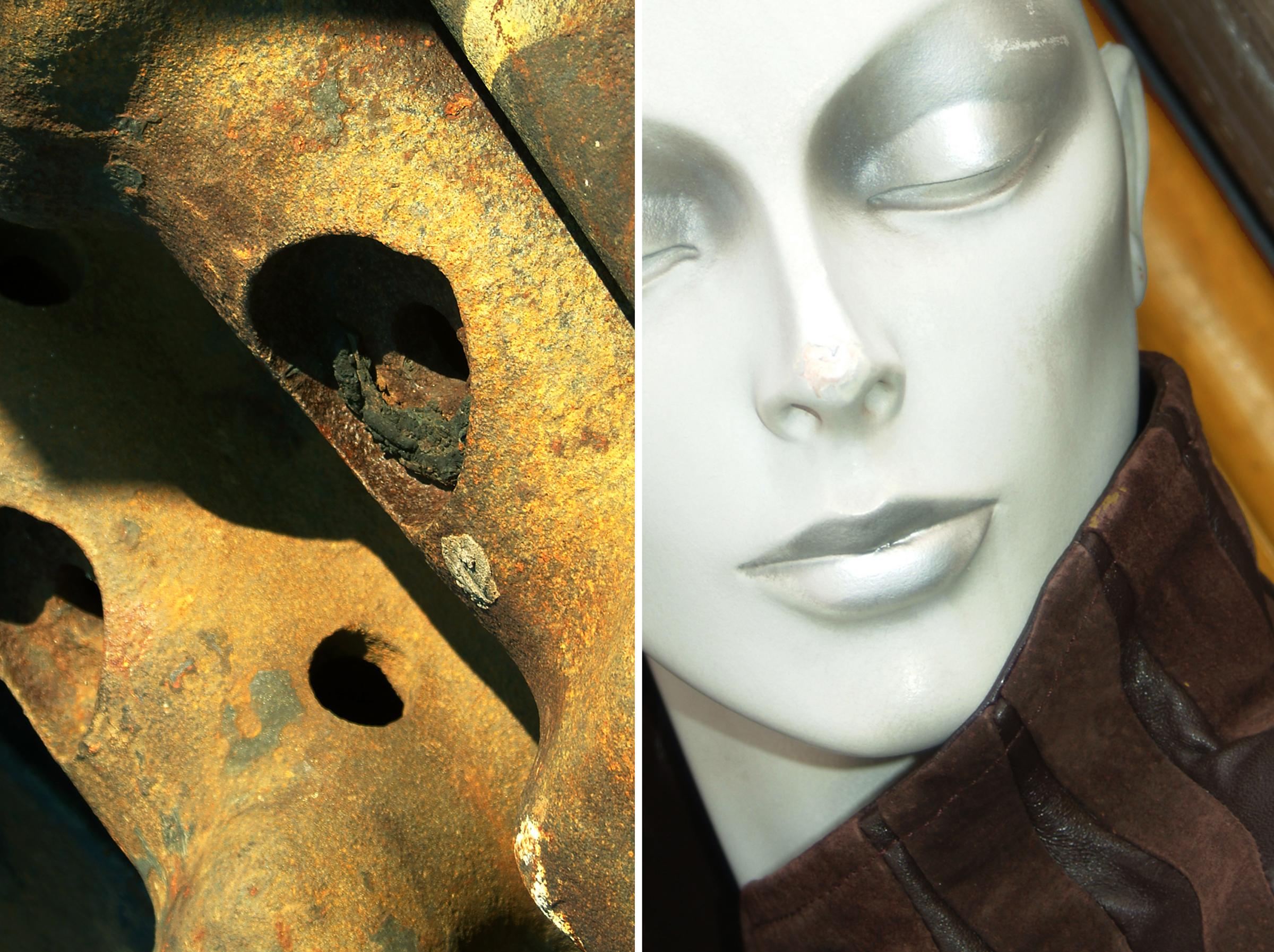 Diptych 27 brown jacket and rusted pipes.jpg
